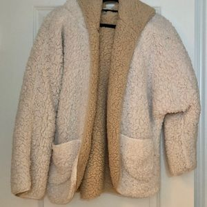 Urban Outfitter Sherpa reversible jacket